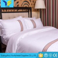 Guangzhou supplies wholesale 5 star hotel 60s*60s fabric duvet cover bedding sets