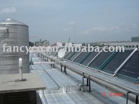 Solar energy water heater project system