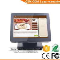 Haina Touch 15 inch Metal Touch Screen POS System All in one Computer