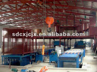 MgO Board Machine/Magnesium Oxide Board Production Line/Lightweight Fireproof Partition Wall Panels Machinery