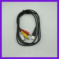 USB Female/Male to RCA Cable