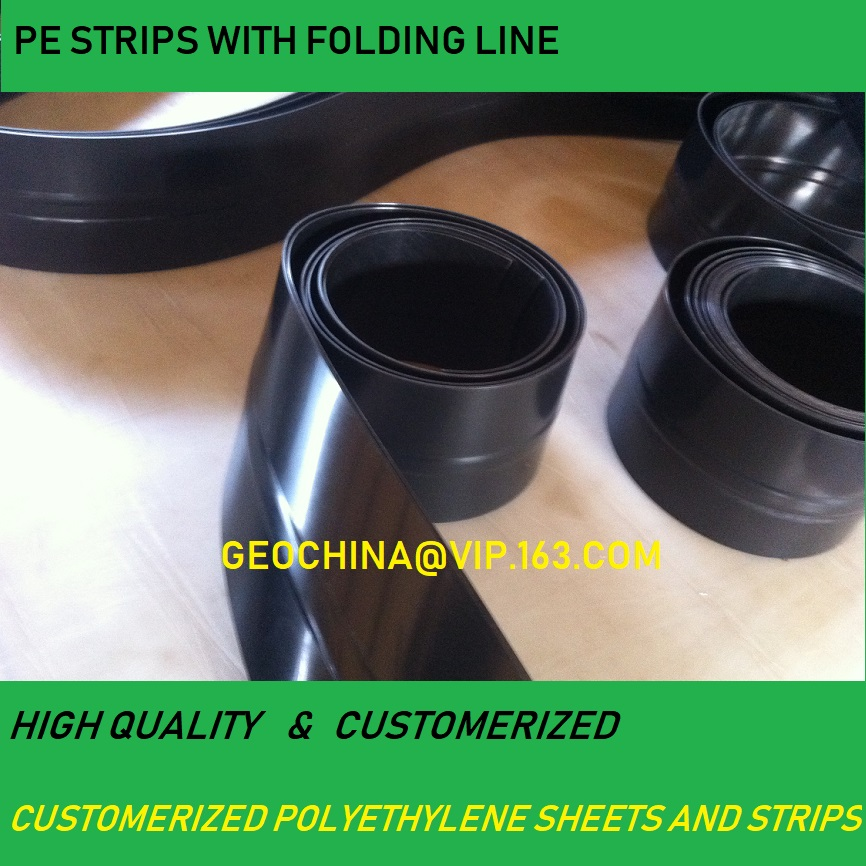 PLASTIC HDPE STRIP GEOCELL USE construction PE sheet
