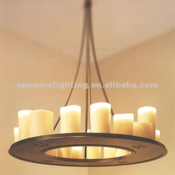 "Modern Lamp Candle holder ""Altar"" by Kevin Reilly pendant lamp (XCP4761A-75)"