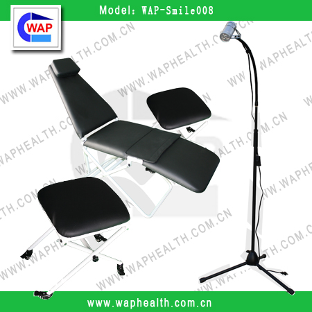 Foldable Dental Chair Price Good Dental Chair Korea WAP-Smile008 CE Approved