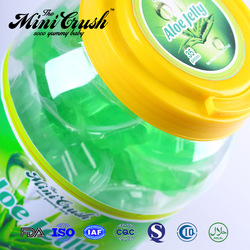 Wholesale mini fruit jelly in toy car jar