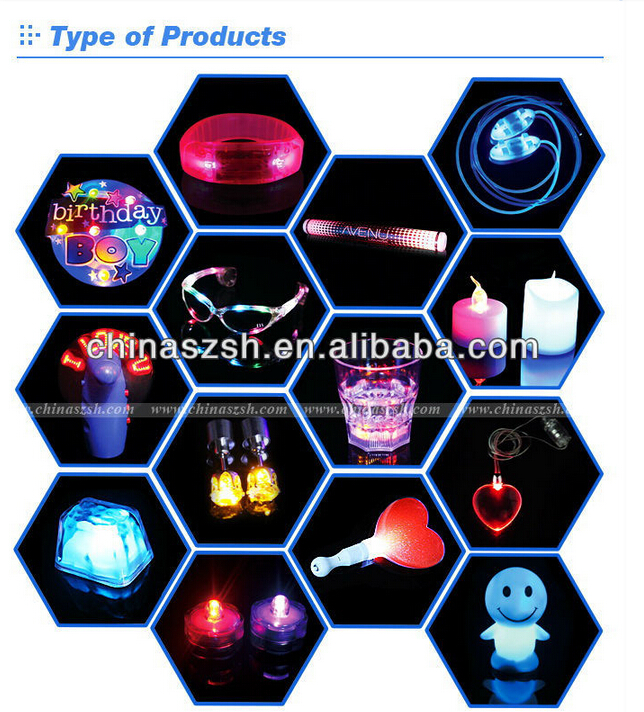 Wholsale glow light up mug, plastic led drinking glass, color changing cup for wedding decoration