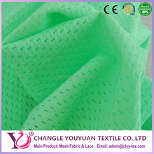 Polyester nylon soccer teams uniforms lining mesh fabric
