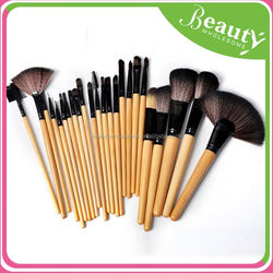 makeup brush case ,EH009 professional high quality makeup brush set