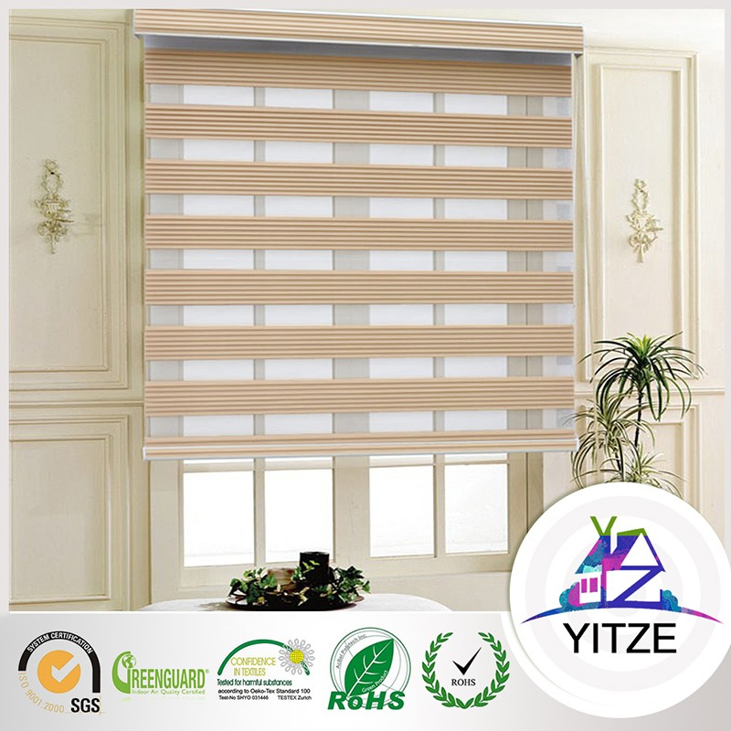 Fire Retardant 100% Polyester Blackout office blinds