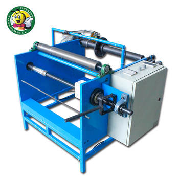 2018 Good Quality Manual Aluminum Foil Rewinding Machine for Small Rolls