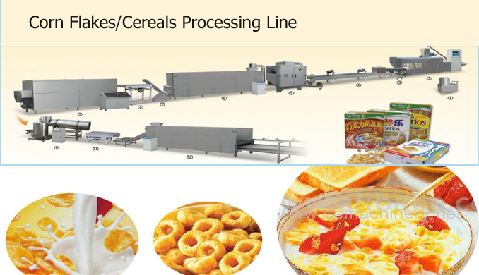 Floating Gluten-free Breakfast Cereals Processing Line