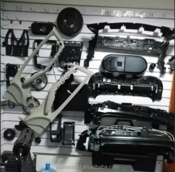 high precision motorcycle housing plastic mould for auto plastic part