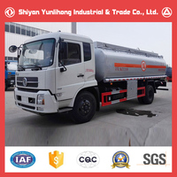 Dongfeng 4x2 10000L Fuel Truck /Tanker Truck Weight