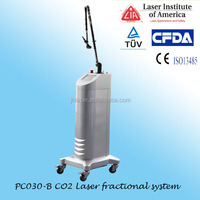 RF mental tube fractional co2 laser 30w for wrinkle removal
