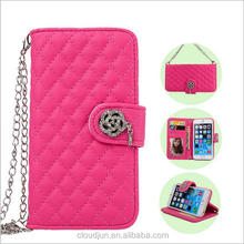 phone case for 4.7inch with Card slots luxury PU Leather Flip mobile phone cover