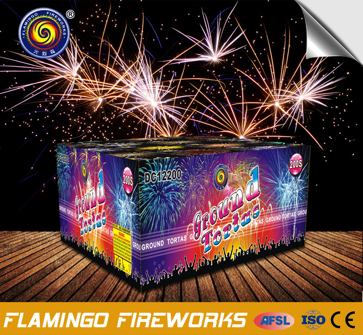 Chinese Nice 200S Celebration Cakes display fireworks cakes
