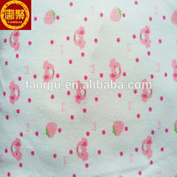 Cotton baby knit warm fabric/cloth wholesale cheap price warm from China factory