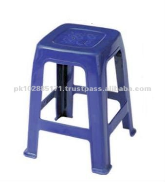 Plastic Stool with foot rest