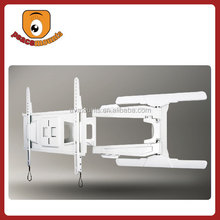 LCD Monitor VESA 400*600 Articulated 180 Degrees Swivel Sliding Extendable Wall Mount TV Holder