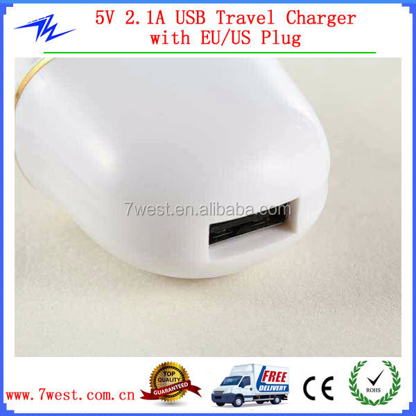 New Arrvial Portable 5V 2A USB Wall Charger,USB Travel Charger for iphone6