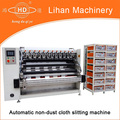 Ultrasonic automatic cleanroom wiper slitting machine
