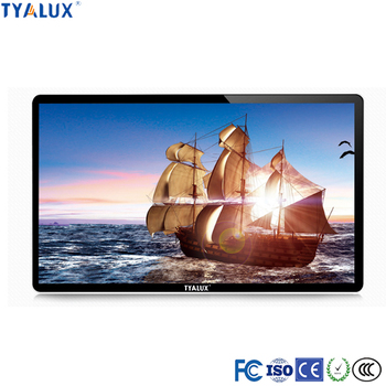 24 inch Capacitive Wall Mounted Touch Screens Advertising Player