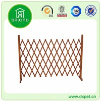 Eco-friendly new design waterproof garden wood fencing