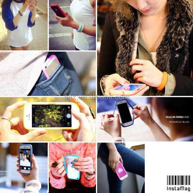 Flexible Multi Functions Soft Bracelet Ring Style TPU Case For iPhone 6 Iphone 5 Samsung Note 3 S5