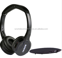 INDA 2 or 3 channel Hi-Fi Stereo wireless TV headsets & headphones IN608