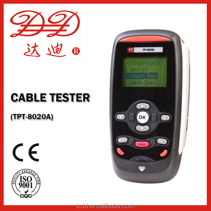 LAN Cable tester/ network tester/ wire tracker TPT-8020A