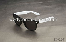 Promotional neon colors plastic sunglasses