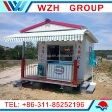 Easily Install Prefab Colorful small shop/kiosk/booth