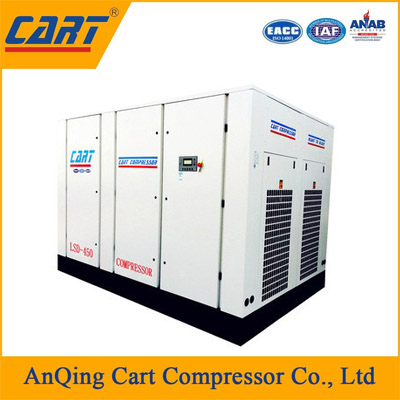 Rotary screw compressor Air cooled method industrial air compressor LSD-450