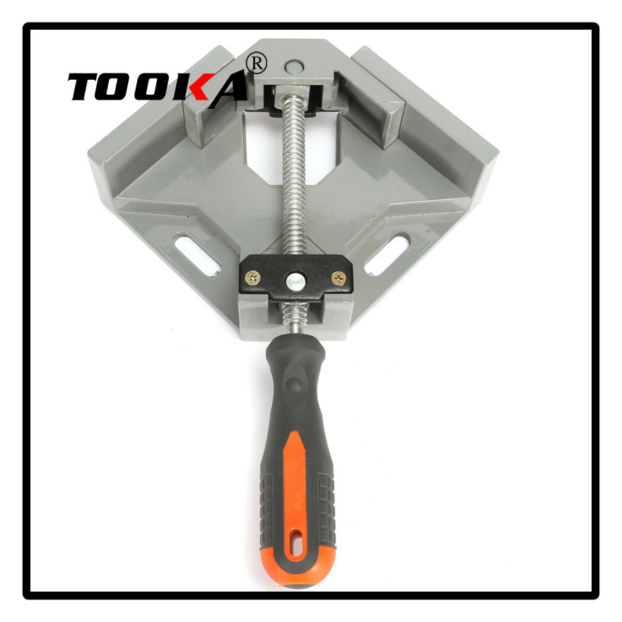 Aluminum Alloy Die-casting 90 Degrees Corner Clamp Right Angle Woodworking Vice Wood / Metal Weld / Welding