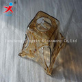 pressed tower shape amber glass pendant lighting covers