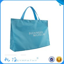 2015 Most fashion Recyclable Shopping nylon Bag Custom Design nylon Tote Bag