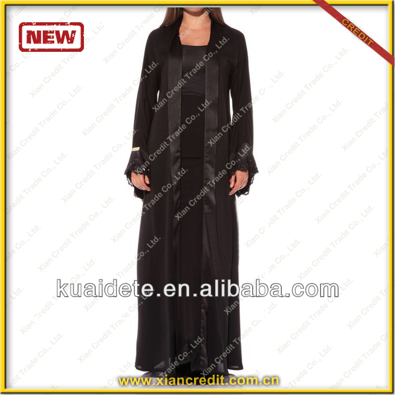 Fashionable wholesale arab jilbab KDT-295