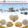 Full Automatic Crispy Chips Process Line and Bugles Making Machine