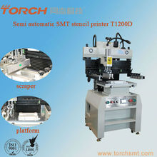 printing machines Semi automatic flat silk screen printing machine China superior SMT solder stencil printer supplier