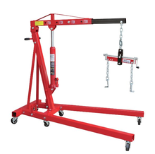 2 Ton Hydraulic Engine Hoist Shop Crane for Sale with CE,small shop crane