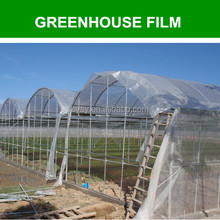 anti uv additive clear hdpe film/outdoor use plastic roofing/transparent roofing material for greenhouse