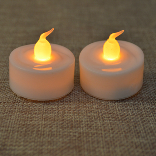 Mini Plastic Led Tea Light Candle Wholesale