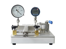 HS706 bench-top hand operated pressure test pump