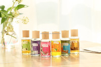 Re-fill essence oil 50ML glass bottle packaging mixed scent Reed Diffuser Liquid with Wooden Cap