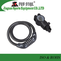 Professional Bicycle Steel Cable Lock