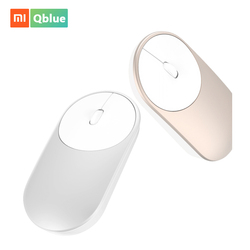 Xiaomi Mouse Portable Optical Wireless Bluetooth Mouse 4.0 RF 2.4GHz Dual Mode Connect for Laptop pc with Battery Stock