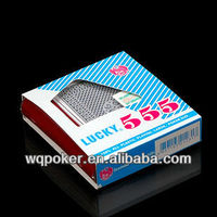 GOLD PLATED packaging paper box for card game