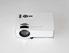 Low Price 26~100in Image Size 800:1 Mini Projector Outdoor LED Pocket Projector UC36 Black/ White