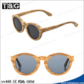 Zebra wooden frame polaroid lens and CE FDA standard quality occhiali sunglasses wholesale China