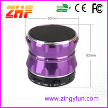fashion 2014 new inventions portable wireless car subwoofer bluetooth speaker